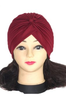 Lalang Adult Unisex Fashion Scarf Hat Red