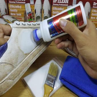 Bộ làm sạch giày da, túi xách, ghế sofa hiệu quả (Trắng)