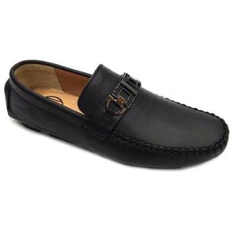 Giày lười da thật nam Everest D101