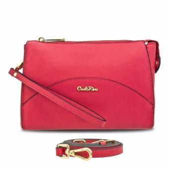 Ví nữ vòng tay - pouch Carlo Rimo 0303331-701-44 (màu hồng)