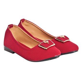 Giày búp bê Sarisiu XT737 (Đỏ)