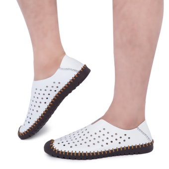 Male Soft Outsole Slip On Breathable Casual Shoes(White) - intl