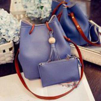 Bộ túi xách và ví thời trang phong cách Hàn Quốc