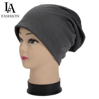 Mũ trùm đầu nam nữ đa năng L&A Fashion (Ghi)