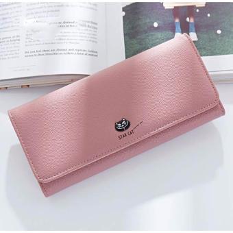 Bóp ví nữ thời trang Weichan chính hãng A511-54 Win Win Shop (Hồng)