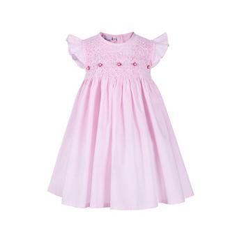 Fanny - Đầm Bé Gái Thêu Xích Móc