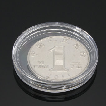 Lighthouse Coin Capsule 30mm Double open Smooth - intl