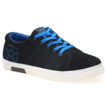 Giày Sneaker Thể Thao Nam Hnp Gn010 (Đen, Xanh)