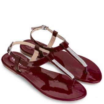 Sandal Nữ DVS - WS388 (Đỏ đô)