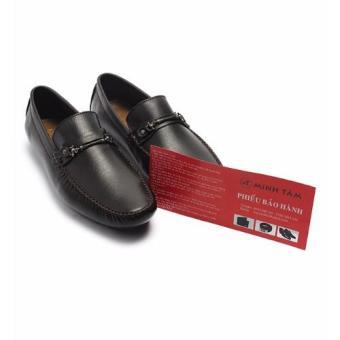 Giày mọi nam da thật Minh Tâm MT522 (Nâu)