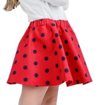 Chân váy bé gái Ugether UKID66 (Đỏ)