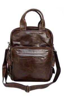 Ba lô da thật KIKI Bags K14 (Nâu)