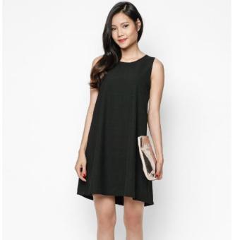 Đầm Suông Màu Đen