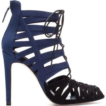 Giày cao gót nữ (Xanh đen)