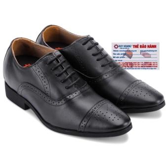 HL7183 - Giày tăng chiều cao Huy Hoàng màu đen