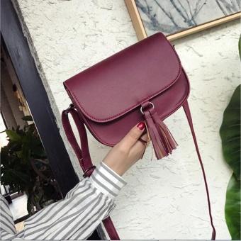 Fashion Women Candy Tassel Messenger Bags Female Handbag Shoulder Bag Bag WE - intl