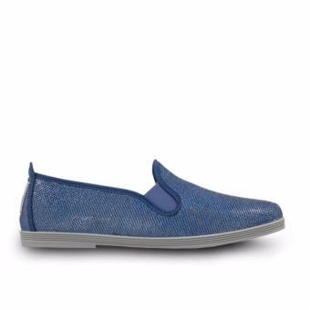 Giày Lười Flossy Oliva (Xanh Dương Bạc)