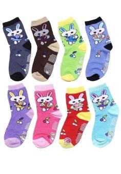 Bộ 8 đôi tất vớ trẻ em từ 9-12 tuổi bé gái SoYoung 8SOCKS 003 9T12 GIRL