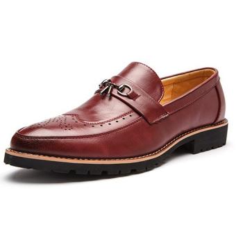 Giày Công Sở Nam Zoma S1044 (Đỏ Đô)