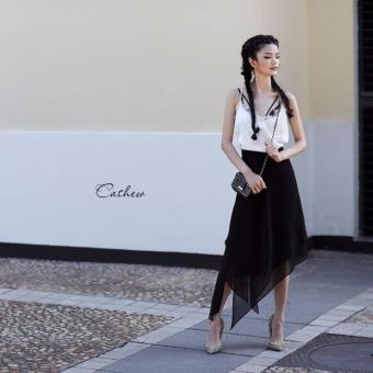 Bộ áo và chân váy Xavia Clothes Cashew