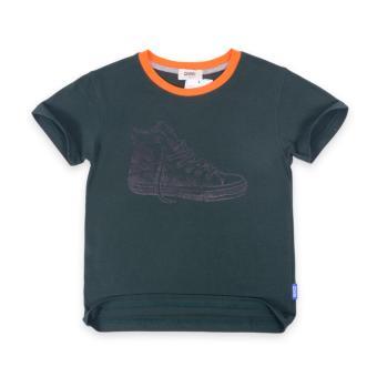 Áo thun bé trai Oiwai 68-0058-011 DGR (xanh rêu)