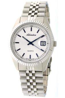 Đồng hồ nam dây thép không gỉ Adriatica A1090.51B3Q (Bạc)
