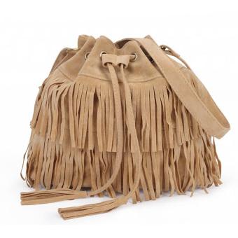 Women Tassel Vintage Shoulder Bag Handbag