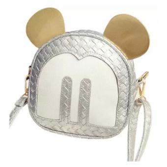 Túi Đan Chéo Mouse Xinh Xắn – So Nice 0005-2 (Bạc)