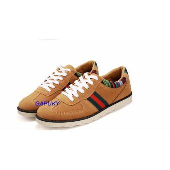 Giày Sneaker da lộn thời trang nam Gapuky GA3105