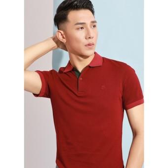 Áo phông Polo đỏ mận