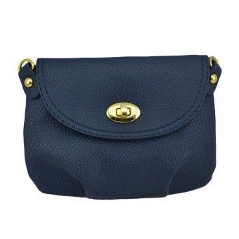 Women Handbag Messenger Bag Small Mini Casual Travel Satchel Purses DarkBlue - Intl