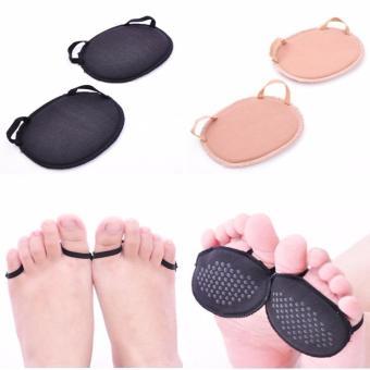 Combo 10 Miếng đệm, lót giày bằng vải xỏ ngón Kim Phát (đen+da)