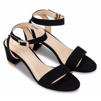 Giày sandals Pierre Cardin PCWFWSB042 - Black