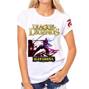 Áo thun Liên minh huyền thoại LOL nữ Katarina Siêu Phẩm vàng
