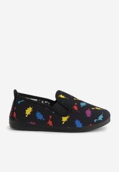 Giày Slip On Flossy C Calista (Đen)