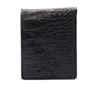 bóp da nam cá sấu BCS_016 ( đen )