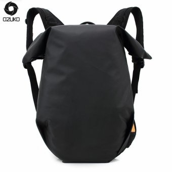 OZUKO 15 Inch Laptop Backpacks Men Backpack Casual Travel Bags Waterproof Oxford Sport Backpack Teenagers School Bag (Black) - intl
