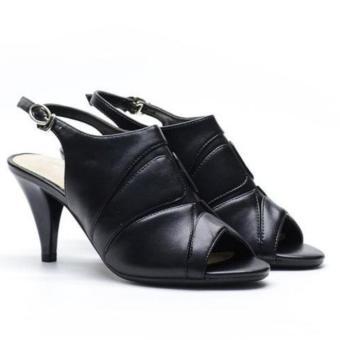 Sandal cao gót Evashoes Eva68626 Đen
