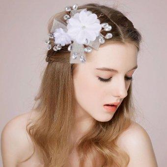 Cài tóc cô dâu bông hoa xinh xắn thời trang TS-HS2020