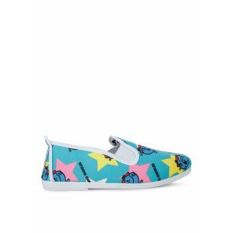 Giày Lười Flossy Little Ms Chaterbox (Xanh lam nhạt)