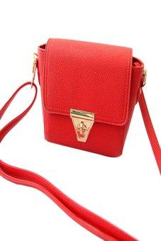 HKS Messenger Bags Fashion Women Shoulder Bags Crossbody Bag Red - intl