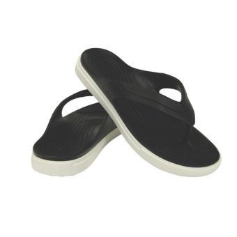 Dép xỏ ngón nam Crocs CitiLane Flip Black/White 202831-066 (Đen)