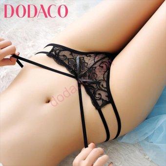 Quần Lót Nữ DODACO DDC3092 DE 6802 (Đen)