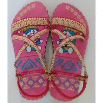 Sandal thổ cẩm baby (Hồng)TFB8532 #33