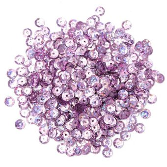 Channy NEW DIY 4mm Faceted Round Loose Shiny Sequins Paillettes Sewing Wedding Craft NEW - intl