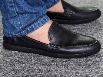 Giày Lười Nam Cao Cấp Antoni Fernando - AF362-1 - Đen