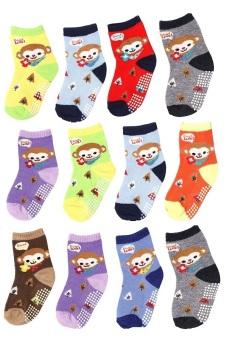 Bộ 12 đôi tất vớ trẻ em từ 5-8 tuổi bé trai SoYoung 12SOCKS 003 5T8 BOY