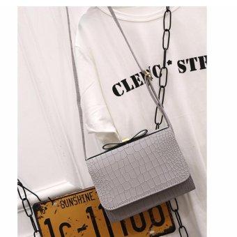 Túi xách thời trang thắt nơ BTS-NL3( XÁM)