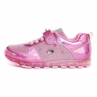 Giày thể thao bé gái Disney SP0089 từ 6-12 tuổi (hồng)