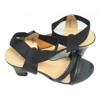 Giày sandal da cao gót Hải Nancy DS006D